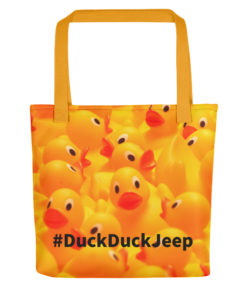 #DuckDuckJeep Tote bag Tote DuckDuckJeep