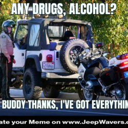 Jeep Cop Control