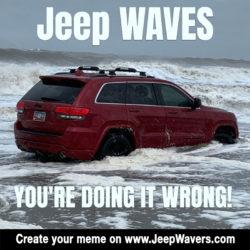 Jeep Waves